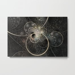 Mobius Rings Metal Print
