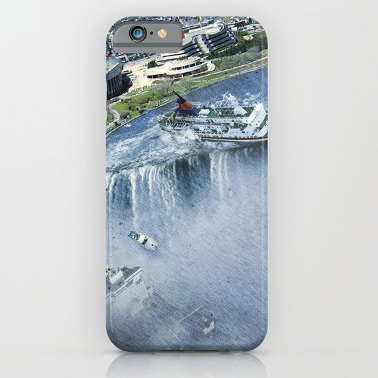 Earth Falls Away iPhone & iPod Case