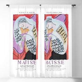 Matisse Exhibition - Aix-en-Provence - The Dream Artwork Blackout Curtain