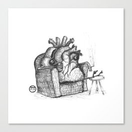 Pal-Heart Canvas Print