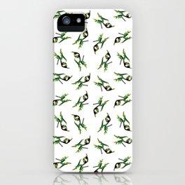 Flaming Fashion Green Heel Shoe iPhone Case