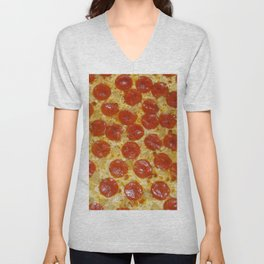 Pizza Unisex V-Neck