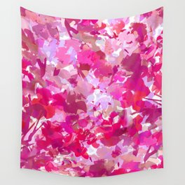 Rosey Spring Wall Tapestry