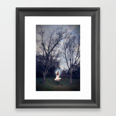 Uncomfortably Numb Framed Art Print