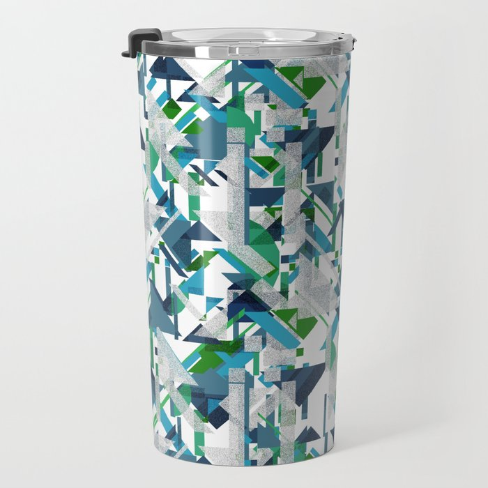 Mediterranean Travel Mug