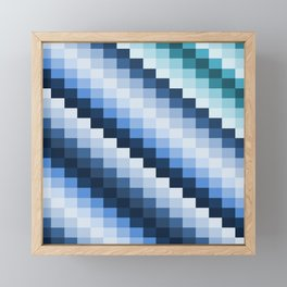 Fuzz Line #2 Framed Mini Art Print