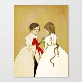Doppleganger Canvas Print