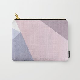 Nude Tones Geometry Carry-All Pouch