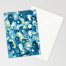 Under my bed Stationery Cards