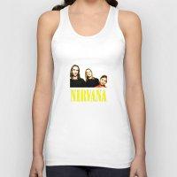 nirvana Tank Tops featuring Nirvana Band by Rothko