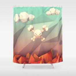 Purgatory Shower Curtain