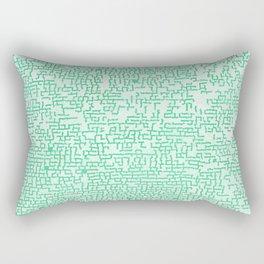Hedge Maze Fun Rectangular Pillow