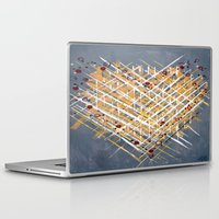 levi Laptop & iPad Skins featuring :: You Knit Me Together :: by :: GaleStorm Artworks ::