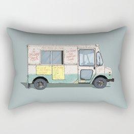 American Ice Cream Truck Rectangular Pillow