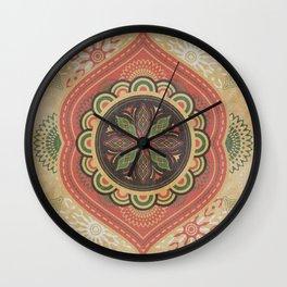 Floret_Flourish_PA_01b Wall Clock