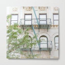 Oh So Soho, New York City Photograph Metal Print