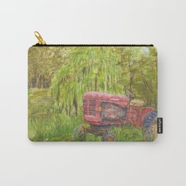 Old Massey Harris 55 tractor in rural France Carry-All Pouch