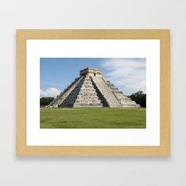 Chitchen Itza, Yucutan Peninsula, Mexico Framed Art Print