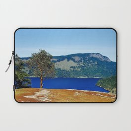 Lone Arbutus, Mid Afternoon Stoney Hill Laptop Sleeve