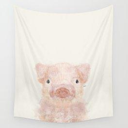 little piggy Wall Tapestry