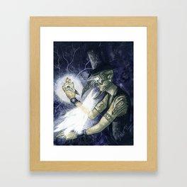 Shadow Man 3 Framed Art Print