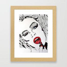 Unloveable Framed Art Print