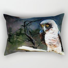 Australian Powerful Owl Rectangular Pillow
