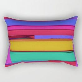 Linear echo Rectangular Pillow