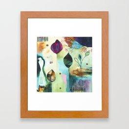 """Abundance"" Original Painting by Flora Bowley  Framed Art Print"