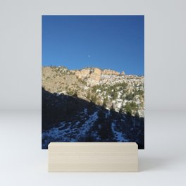 Moon in Daylight Mini Art Print