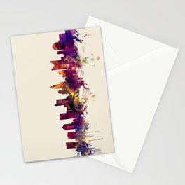 Columbus Ohio Skyline Stationery Cards