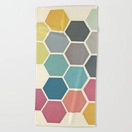 Honeycomb II Beach Towel