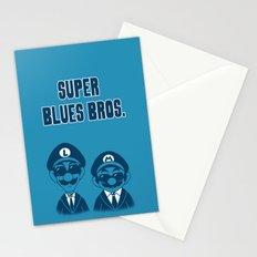 Super Blues Bros. Stationery Cards