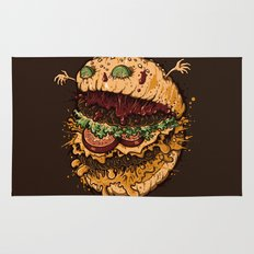 Monster Burger Rug