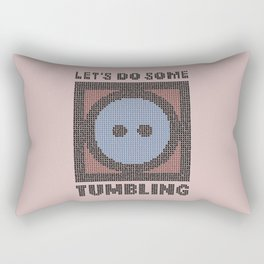 Let's Do Some Tumbling Rectangular Pillow
