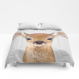 Baby Deer - Colorful Comforters