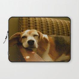 Sleepy Beagle Laptop Sleeve