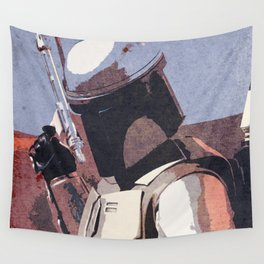Bobba Fett | The Bounty Hunter | Star War Art Wall Tapestry