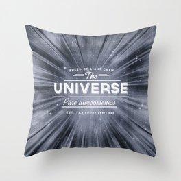 The Universe Crew Throw Pillow