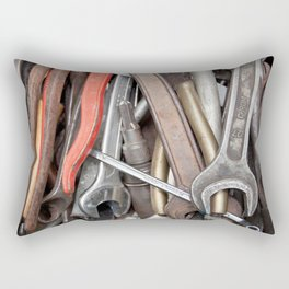 old tools Rectangular Pillow