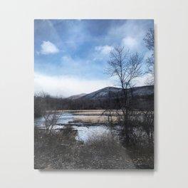 Wintery New York Metal Print
