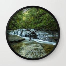 Ledge Falls, No. 2 Wall Clock