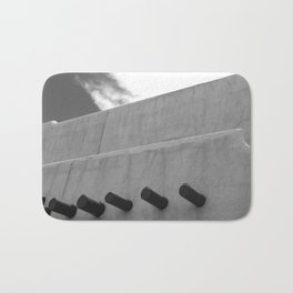 Shapes of Adobe Architecture Bath Mat