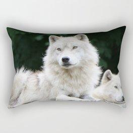 Leader of the pack Rectangular Pillow