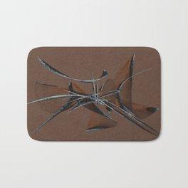 Stone Curve Abstract Bath Mat