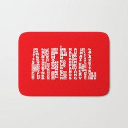 Arsenal 2018 - 2019 Bath Mat