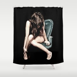 """The Chair"" Shower Curtain"