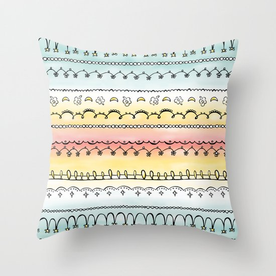 Frills & Fancies Throw Pillow