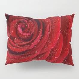Th red rose Pillow Sham