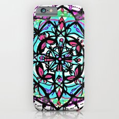 Budding Mandala x4 iPhone 6s Slim Case